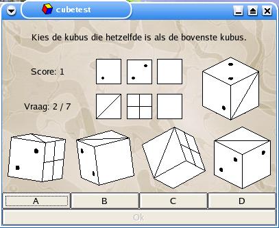 The Computer Program Cubetest